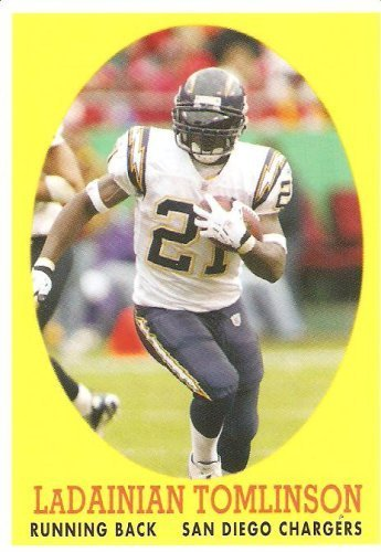 2007 Topps Turn Back The Clock # 10 LaDainian Tomlinson - San Diego Chargers - NFL Football ()