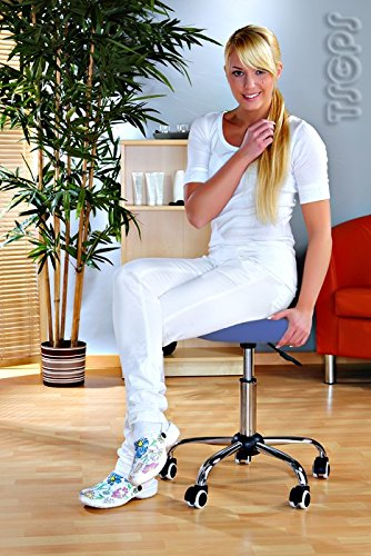 Massage Beauty Therapy Gas Stool Height Adjustable - BLUE Kingpower TSGPS