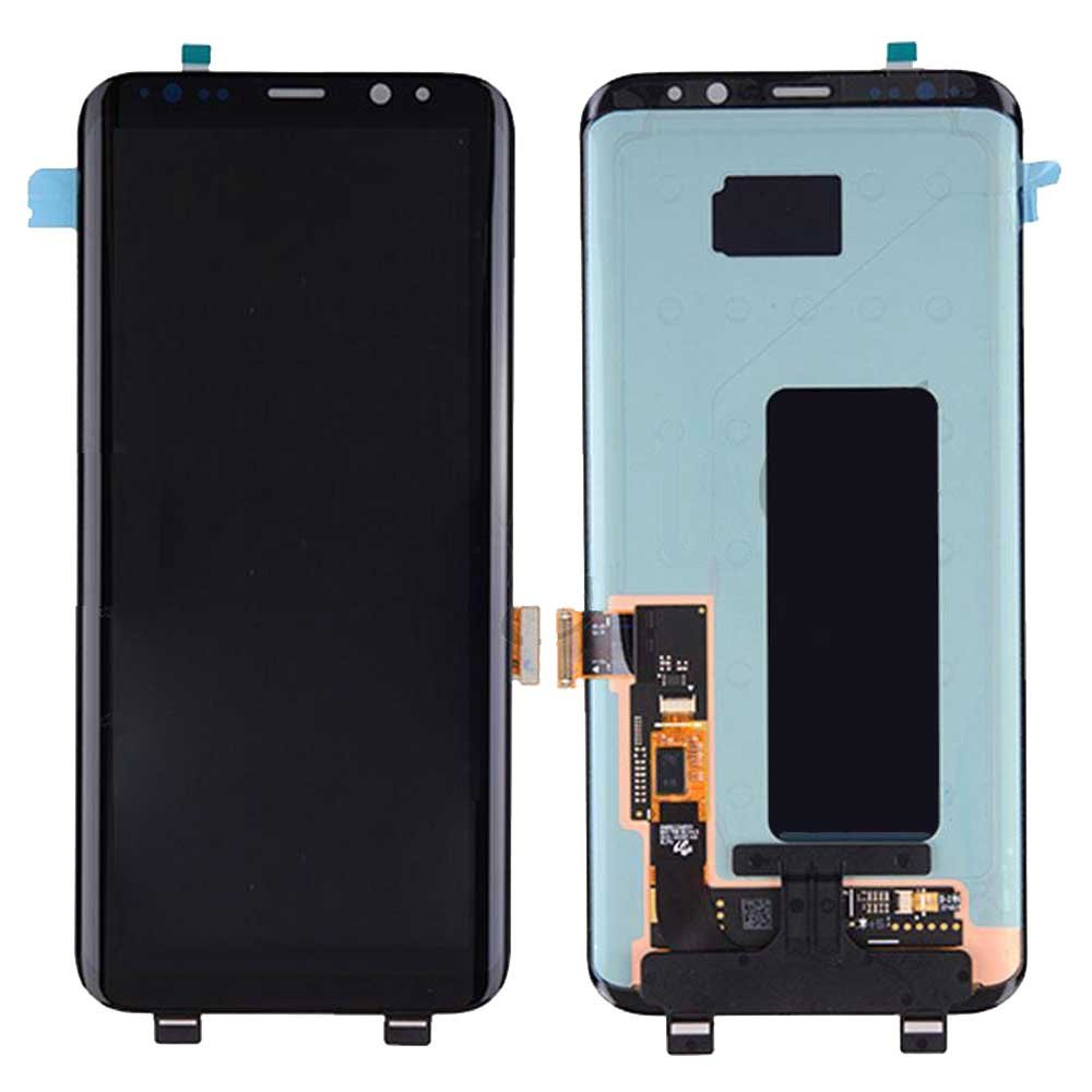 Touch Screen Digitizer and LCD for Samsung Galaxy S8 Plus - Midnight Black
