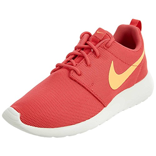 Nike Womens Roshe One Running Shoes (6.5 B(M) US)(Ember Glow/Peach Cream/Sail)