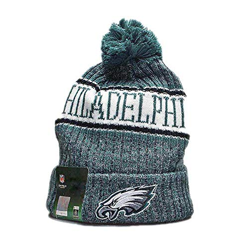 952a1bb05ce495 Gloral HIF Philadelphia Eagles NFL Winter Hat Winter Toque Cap with Pom for  Gifts