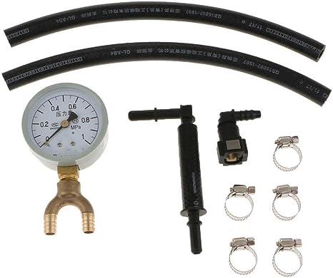 Öldruckprüfung Manometer Kit Oil Pressure Testers Oil Pressure Gauge Öldruckprüfer Benzin Öleinspritzpumpe Manometer Auto
