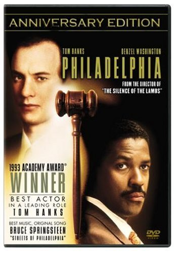 Philadelphia (Anniversary Edition, 2 discs) (Bilingual) Tom Hanks Denzel Washington Roberta Maxwell Buzz Kilman