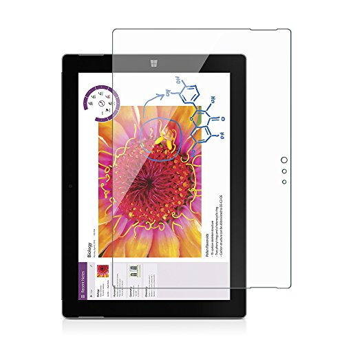 SPARIN Surface 3 Screen Protector, [Tempered Glass] [Ultra Clear] [Bubble Free] Protector for Microsoft Surface 3 (10.8-Inch), [NOT For Microsoft Surface Pro 3 12-Inch]