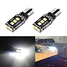 JDM ASTAR Extremely Bright Error Free PX Chipsets 194 168 2825 W5W T10 LED Bulbs,Xenon White