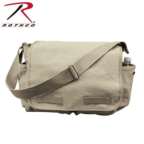 (Rothco Hw Canvas Classic Messenger Bag - Khaki)