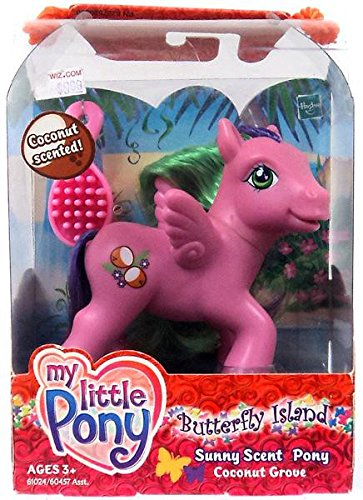 My Little Pony G3: Coconut Grove - Butterfly Island Coconut Scented Sunny Scent Pony (Grove Scent)