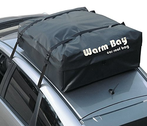 Warm Bay Waterproof Car Rooftop Bag Cargo Carrier (Made of Prime Poly-canvas) by Warm Bay