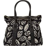 Pendleton Feather Storm Leather Travel Tote | Carry All | Bag