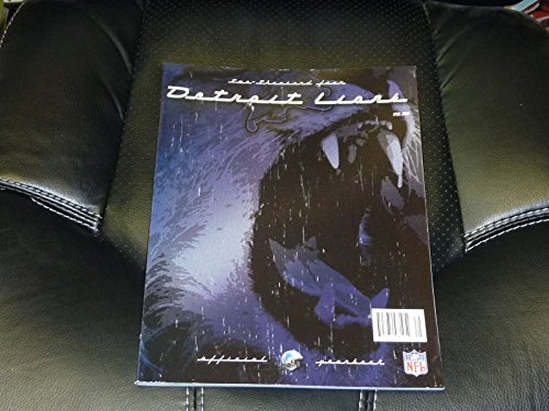 (2004 DETROIT LIONS FOOTBALL YEARBOOK NEAR MINT)