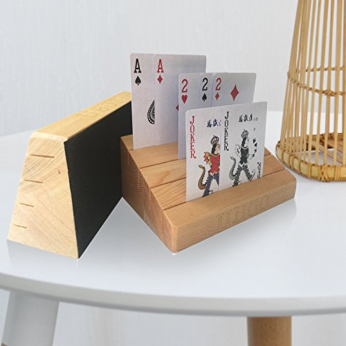 playing card holder wood - 7