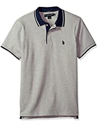 Men's Short Sleeve Classic Fit Solid Pique Polo Shirt