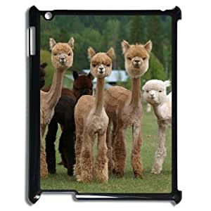 Alpaca Custom Cover Case with Hard Shell Protection for Ipad2,3,4 Case lxa#920896
