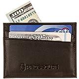 RFID Blocking Minimalist Slim Wallet - Men's Genuine Leather