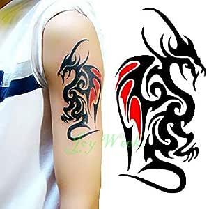 adgkitb 5piezas Impermeable Tatuaje Temporal Pegatina escorpión ...