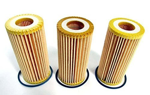 Golf Gti Iii (2015-2016 VW Volkswagen Golf GTI Set Of 3 Oil Filter Replacements GENUINE OEM BRAND NEW by Volkswagen)
