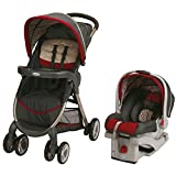 Graco Fastaction Fold Click Connect Travel System, Finley 2015