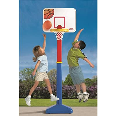 616068 Little Tikes Adjust N Jam Basketball Set