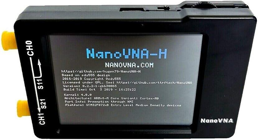 TOOGOO - Analizador de antena de red vetorial NanoVNA-H 50 ...