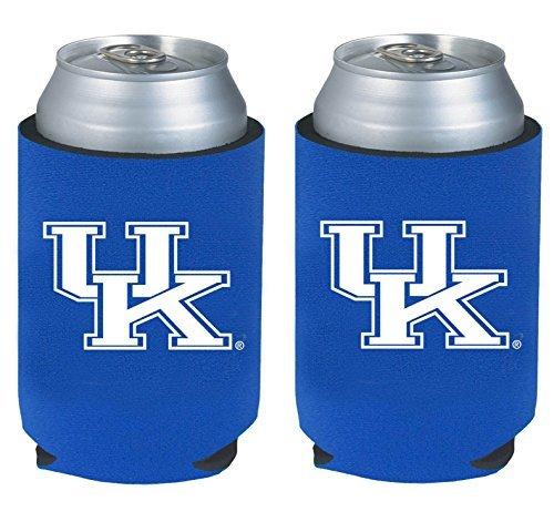 NCAA College 2014 Team Logo Color Can Kaddy Holder Cooler 2-Pack (Kentucky Wildcats)