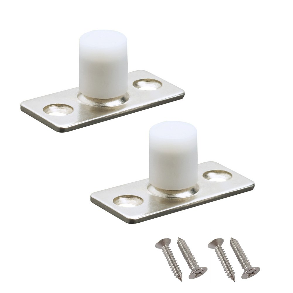 YES Time 2 Pieces Sliding Door Roller Guide Nylon Guide Wheel Floor Guide Roller