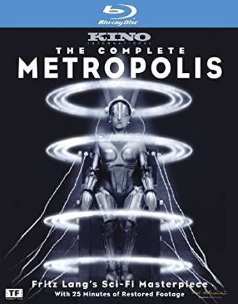 Amazon com: The Complete Metropolis [Blu-ray] by Kino Lorber films