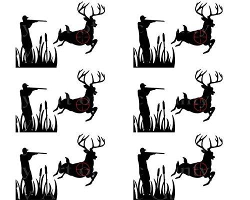 Caza de ciervo Cumpleaños – Side Diseñador franja ...