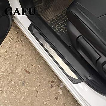 Protector de asiento para puerta de coche para Qashqai J11 2017 2018 Scuff, de acero