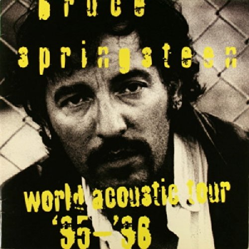 Bruce Springsteen World Acoustic Tour '95-'96 Concert Program (Bruce Springsteen My Best Was Never Good Enough)