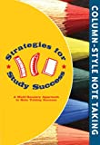 Strategies for Study Success, Column-Style Note Taking, Emily Levy, 0977211045