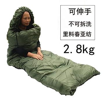 SUHAGN Saco de dormir Sacos De Dormir Adulto Exterior Gruesa De Invierno Cálido Algodón Bolsas De