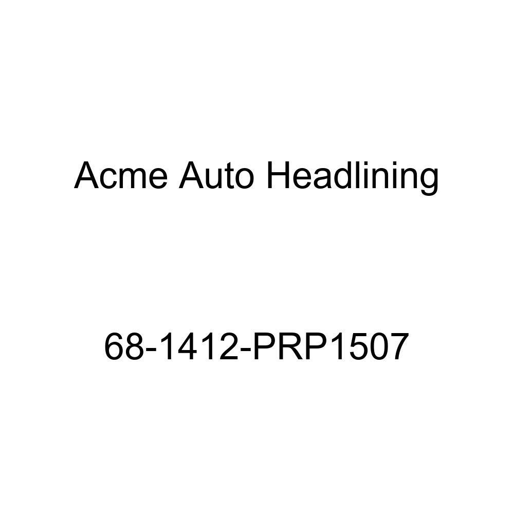 Acme Auto Headlining 68-1412-PRP1507 Red Replacement Headliner Chevrolet Caprice 2 Door Hardtop 6 Bow