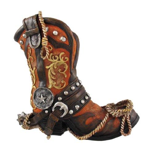 DWK Corporation DWKHC31925 Cowboy Boot Wine Holder (Set of - Boot Wine Cowboy