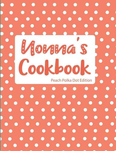 Nonna's Cookbook Peach Polka Dot Edition by Pickled Pepper Press