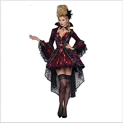 People-COS1 Damas Vampire Countess Vampiretta Adult Fancy ...