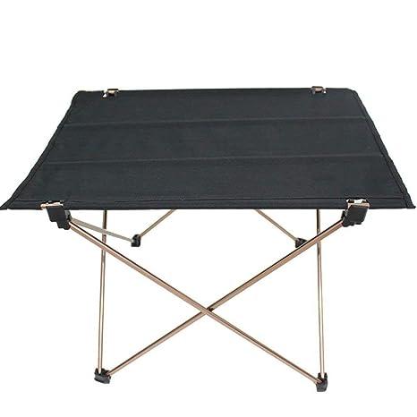 LJFYMX Mesa y sillas de Camping Mesa Plegable Plegable para ...