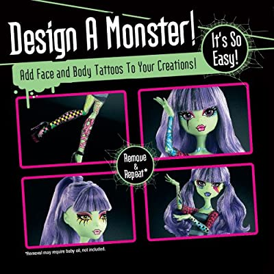 Monster High Create-A-Monster Design Lab: Toys & Games