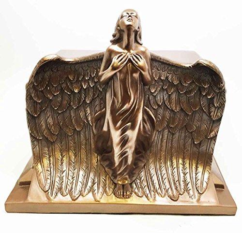 HEAVEN BOUND ASCENDING ANGEL BOTTOM LOAD CREMATION URN FIGURINE FUNERAL SUPPLY