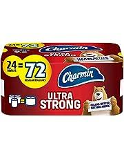 Charmin Ultra Strong Toilet Paper, 24 Triple Rolls Bath Tissue equal to 72 Regular Rolls