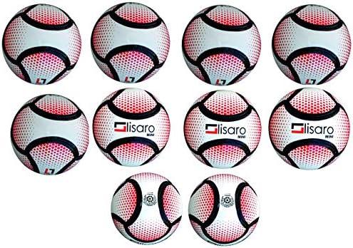 Lisaro - Balón de fútbol Mini, 10 4318000100 - Balón pequeño del ...