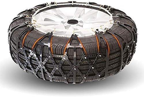 非金属タイヤチェーン マウント緊急トラクションへの容易なポータブルタイヤのスノーチェーンアンチスキッド タイヤチェーン 軽自動車 (Color : Black, Size : 235/60 R17)