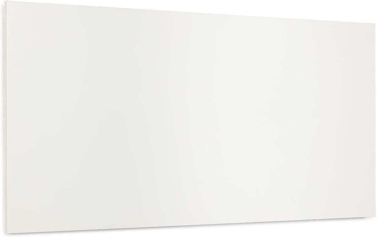 KLARSTEIN Wonderwall Air Infinite - Calefactor infrarrojo, Panel calentado, Sin Marcos, Silencioso, Montaje en la Pared, Sistema OpenWindow, para alérgicos, Termostato, 720 W, 120 x 60 cm, Blanco