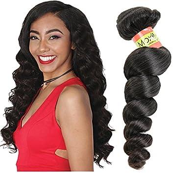 Amazon.com   Moxika Grade 8A Brazilian Loose Wave 3 Bundles 12inch 14inch  14inch 300 Grams Brazilian Virgin Remy Human Hair Weave Weft Unprocessed  Natural ... f739aa68b