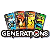 Pokemon Generations Expansion Booster Pack x 4