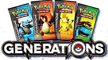 Pokemon Generations Expansion Booster Pack x 4, Decks & Sets - Amazon Canada