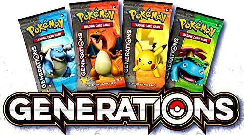 Booster Generations (Pokemon Generations Expansion Booster Pack x 4)