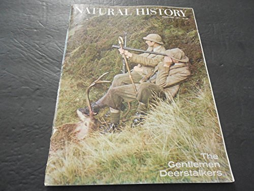 Natural History Magazine Feb 1971, Highlands of Scotland, Deerstalkers ()