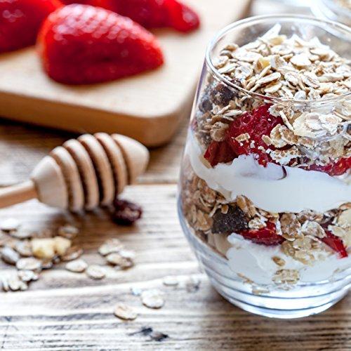 nu3 Muesli Low Carb sabor chocolate | 575g de mezcla de avena y cereales | Desayuno vegano nutritivo bajo en carbohidratos | 100% más fibra y 200% más ...