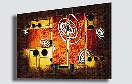 Colore sfondo dipinto il poster di vento colore dipinto a olio del
