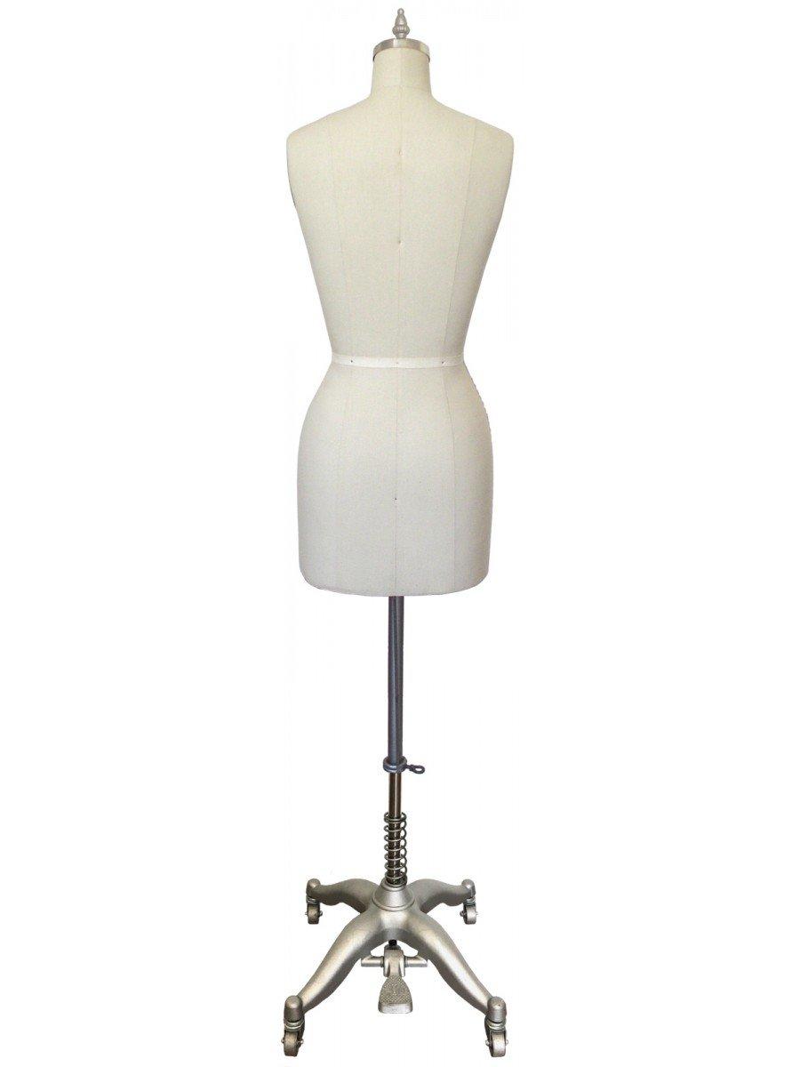 PGM Dress Form Size 4 w//Flat Hip 3 year manufacturer warranty Professional Female Dress Form 602B